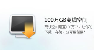 1000GB离线空间